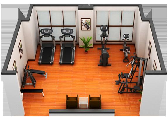 健身房配置方案 力美健体育