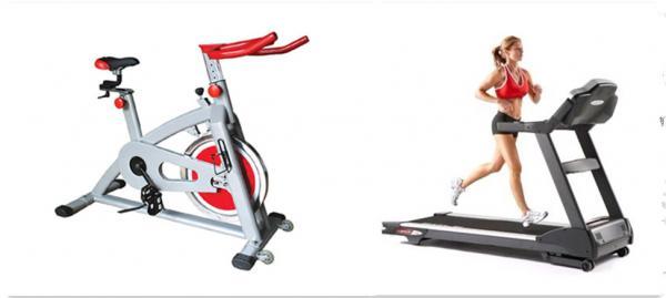 健身房里动感单车和跑步机哪个减肥效果好?